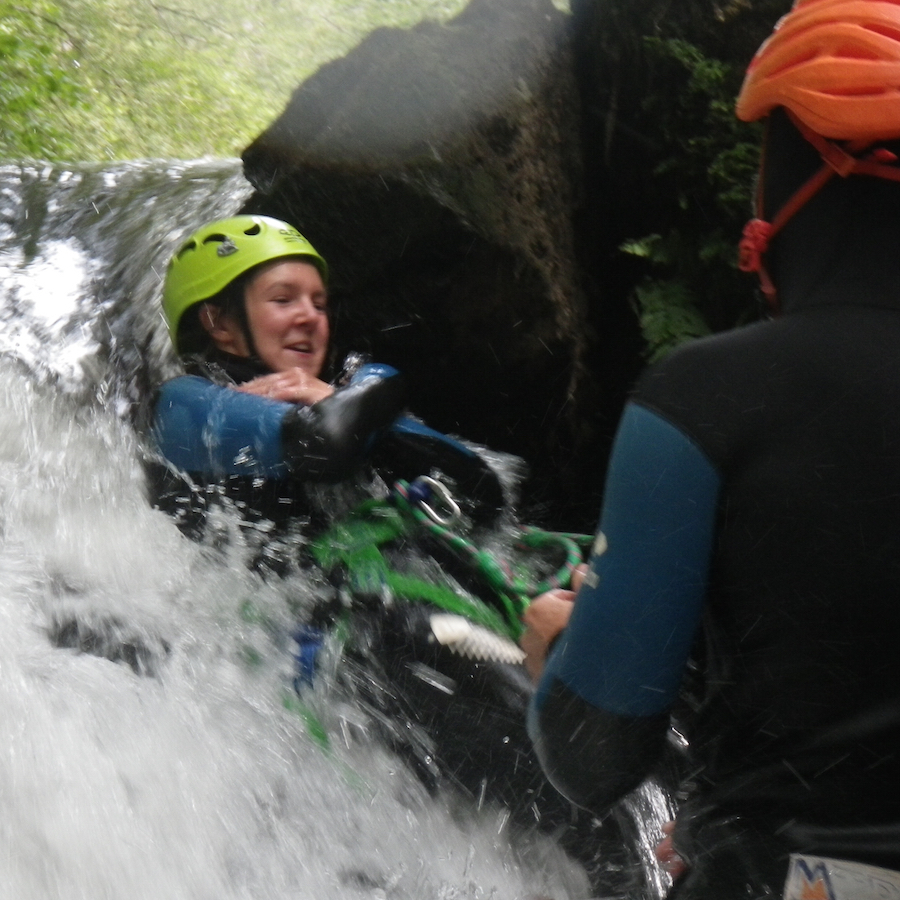 numad canyoning gouffre des cloches - 1