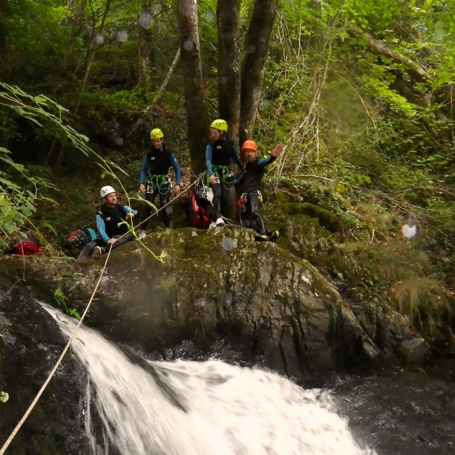 numad canyoning gouffre des cloches - 11