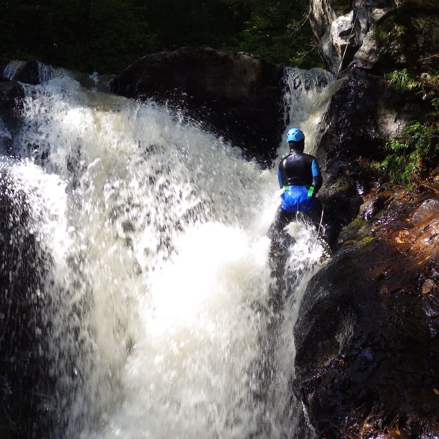 numad canyoning gouffre des cloches - 14