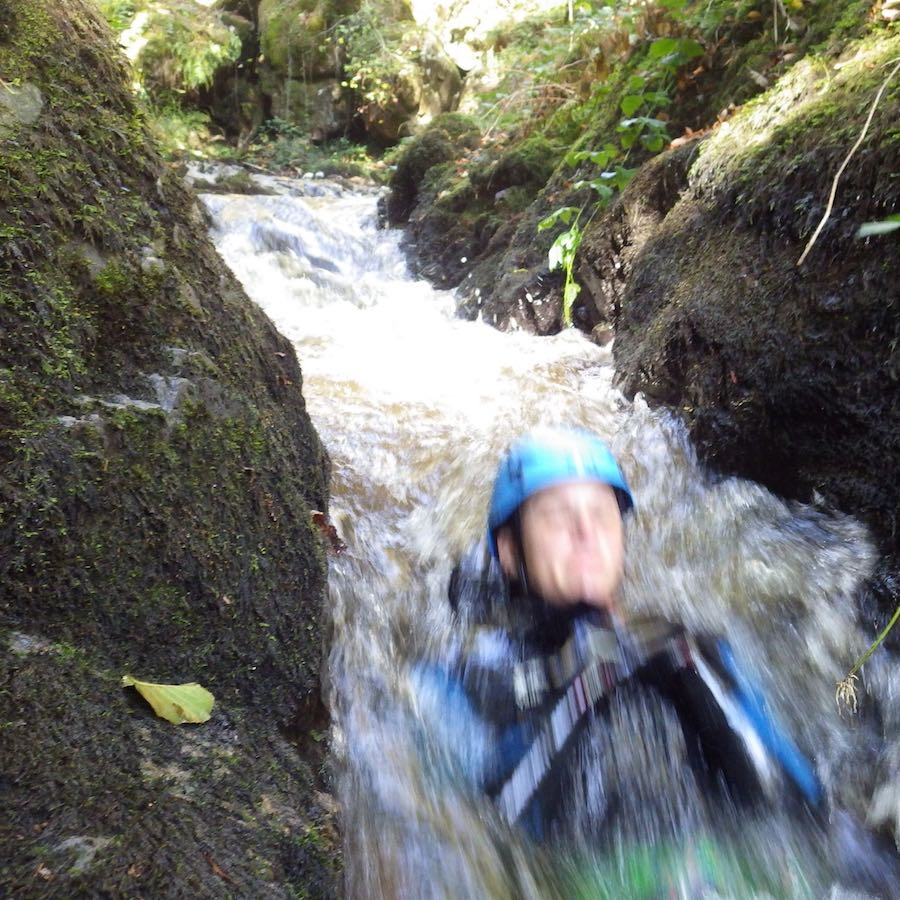 numad canyoning gouffre des cloches - 15