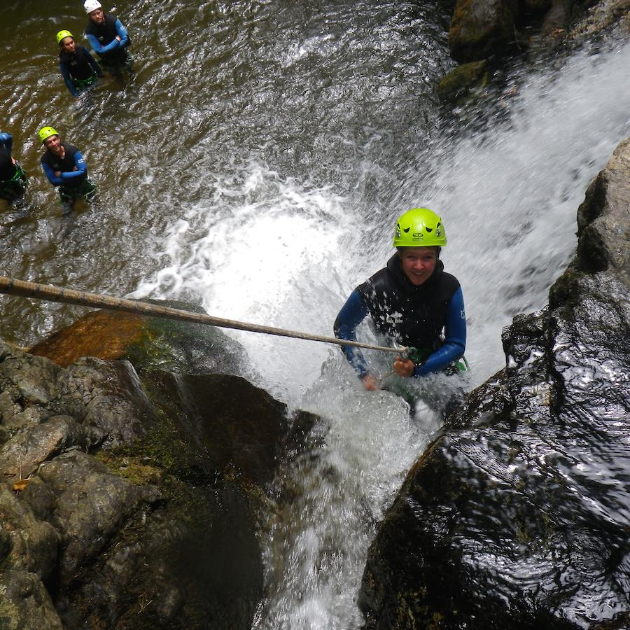 numad canyoning gouffre des cloches - 4