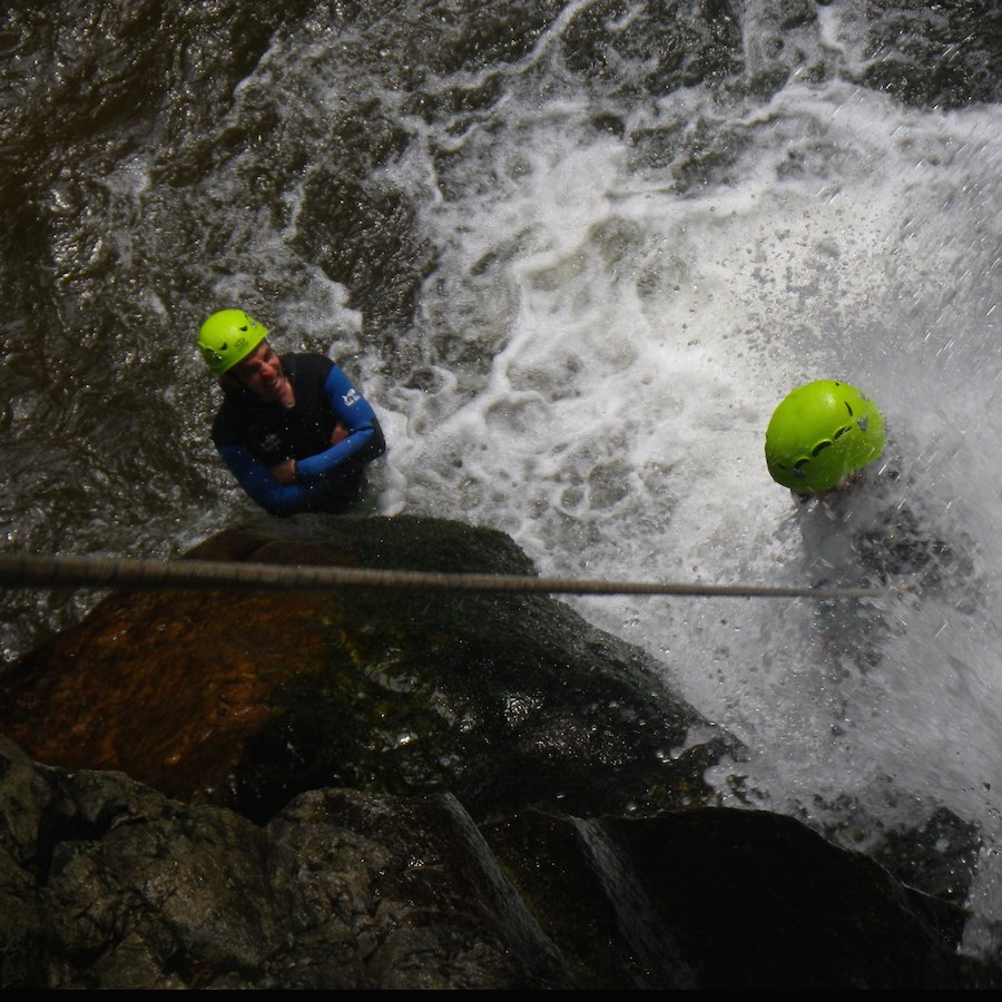 numad canyoning gouffre des cloches - 5