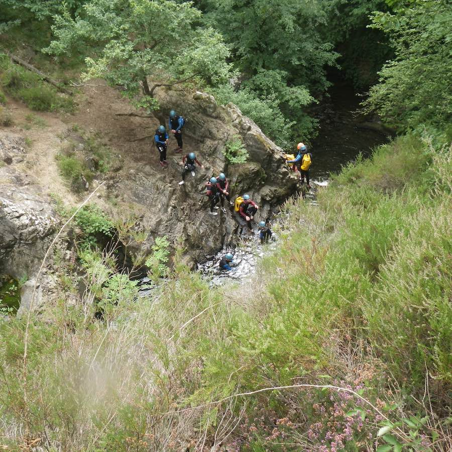 numad canyoning gouffre des cloches - 6