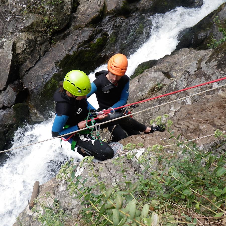 numad canyoning gouffre des cloches - 7